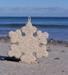 Home of the Kennebunk Beachsand Snowflake Ornament