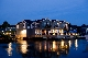 The Boathouse Waterfront Hotel at Night